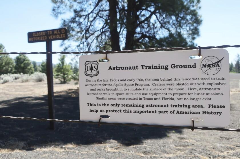 Moon Landing Training Ground
