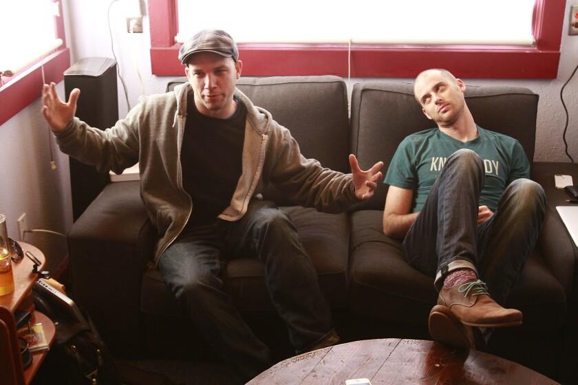 """Lloyd Ahlquist and Peter Shukoff creators of """"Epic Rap Battles."""""""