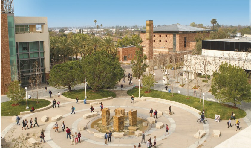 Chapman University campus in Orange.