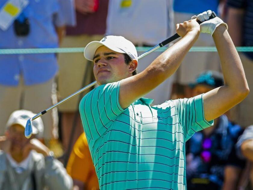 En la imagen, el golfista estadounidense Beau Hossler. EFE/Archivo