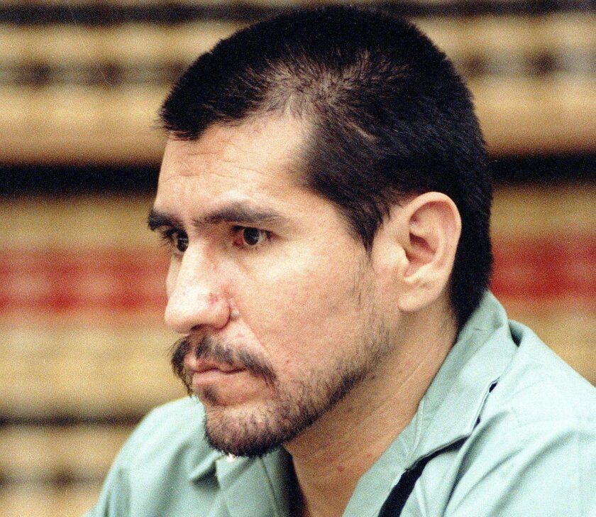 Rudolph Roybal in 1992, during his trial.