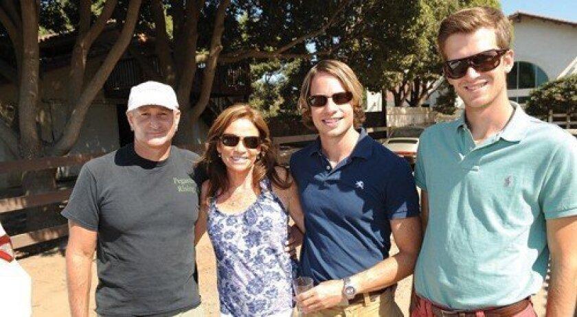 Gary Adler, Grace Kalina, Rick Bridger, Lukas Blatzheim (Photo: Jon Clark)