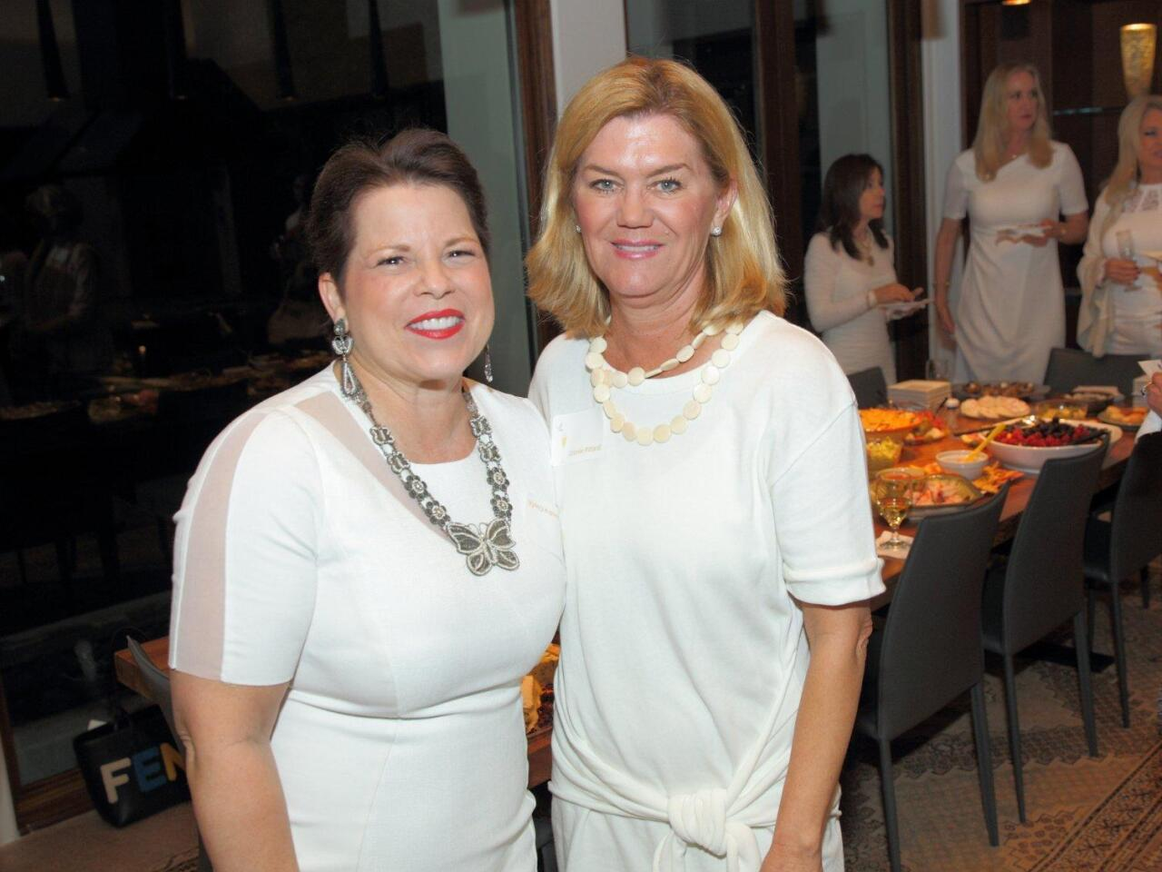 RSF Women's Fund president Sandra Coufal with Connie Pittard
