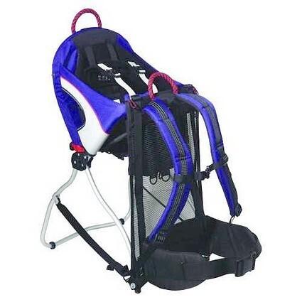 Child carrier backpack stroller