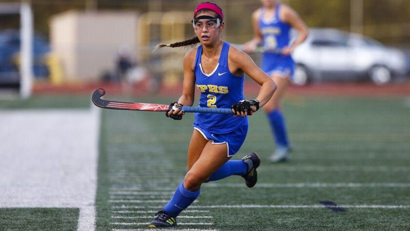 San Pasqual's Keeley Akagi will continue her field hockey career at Stanford.