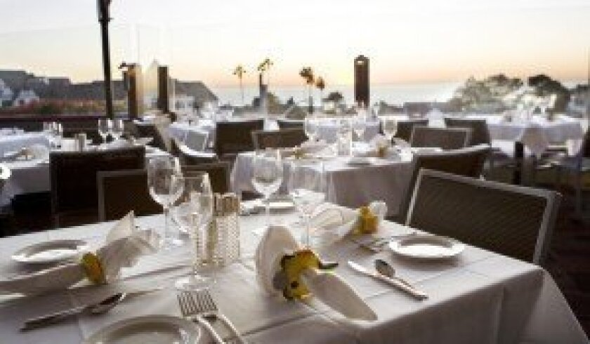 Views of the ocean make dining at Pacifica Del Mar a special occasion. Courtesy photos