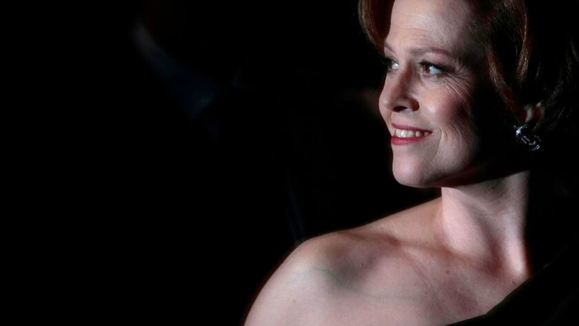 "Sigourney Weaver will narrate the L.A. Phil world premiere of ""War of the Worlds."""