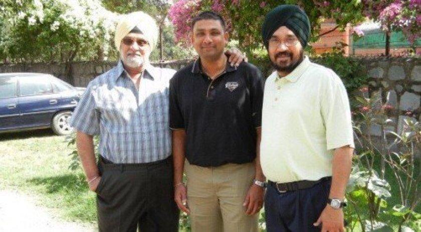 Bishan Singh Bedi, Gangaram Singh and Raj Singh Ghai. Courtesy photo