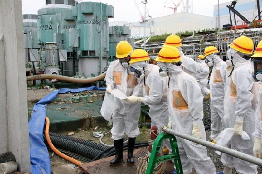 Inspecting Fukushima