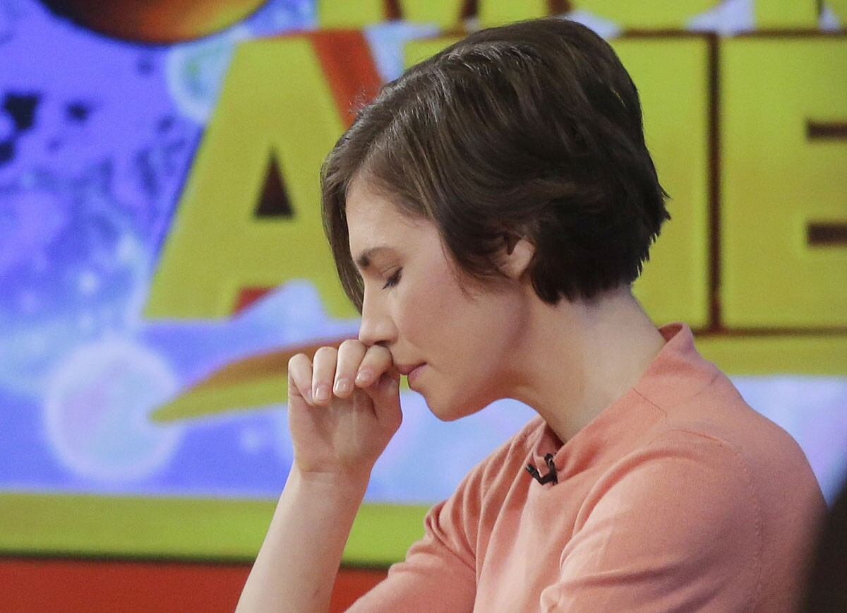 Amanda Knox said she will fight the reinstated guilty verdicts against her and a former boyfriend in the 2007 slaying of a British roommate.