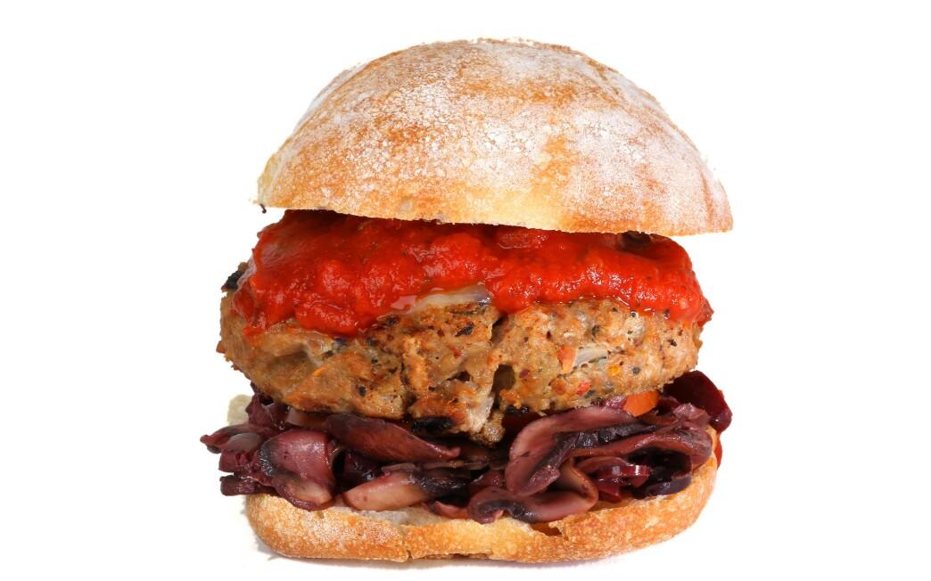 Taste of Italy turkey burger