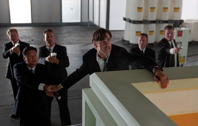 """Colin Farrell, center, stars in the movie """"Minority Report."""""""