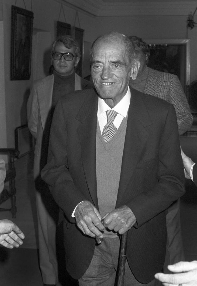 El director de cine Luis Buñuel. EFE/Archivo