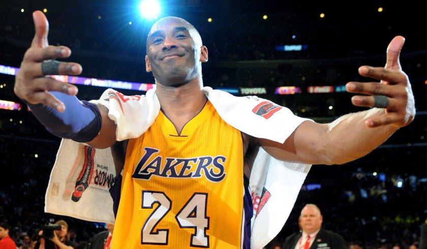 sports shoes 9bfc5 2972b Lakers plan to retire both numbers, 8 and 24, that Kobe ...