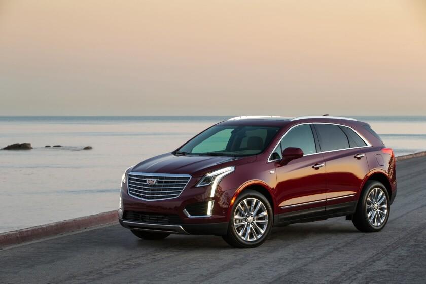 2018 Cadillac XT5 Platinum.