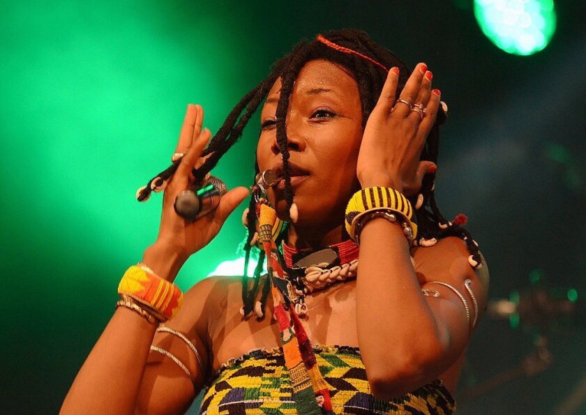 MUSIC_ Fatoumata Diawara.  No Photo Credit Given
