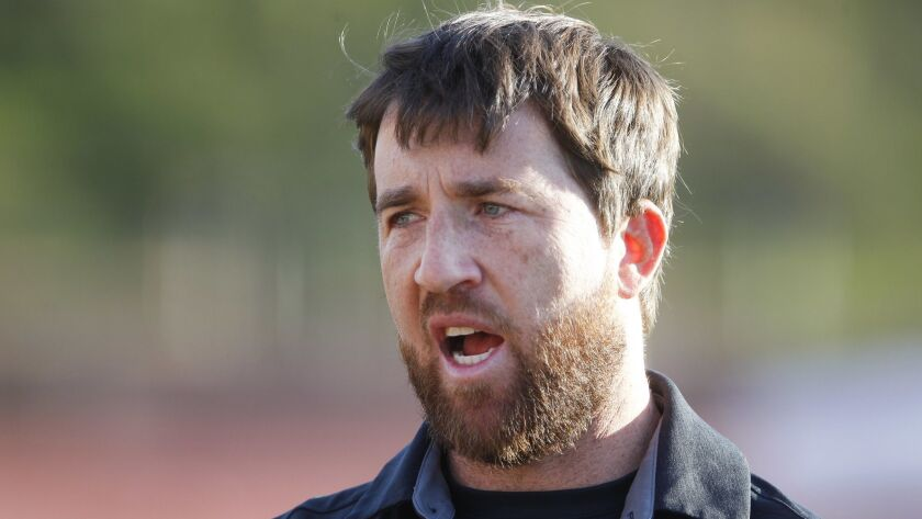 Torrey Pines coach Jono Zissi leads the top-ranked Falcons.