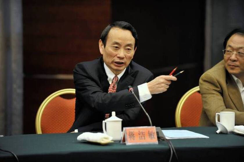 Jiang Jiemin, who oversees state-owned companies in a Chinese ministerial position, is the latest Communist Party official to face investigation amid the president's anti-corruption push.