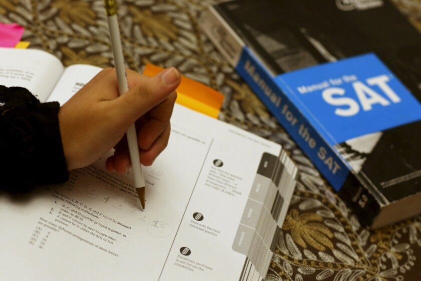 The University of California is considering whether to drop the SAT and ACT tests as an admission requirement.