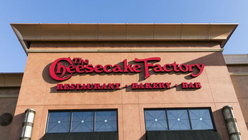 A Cheesecake Factory restaurant