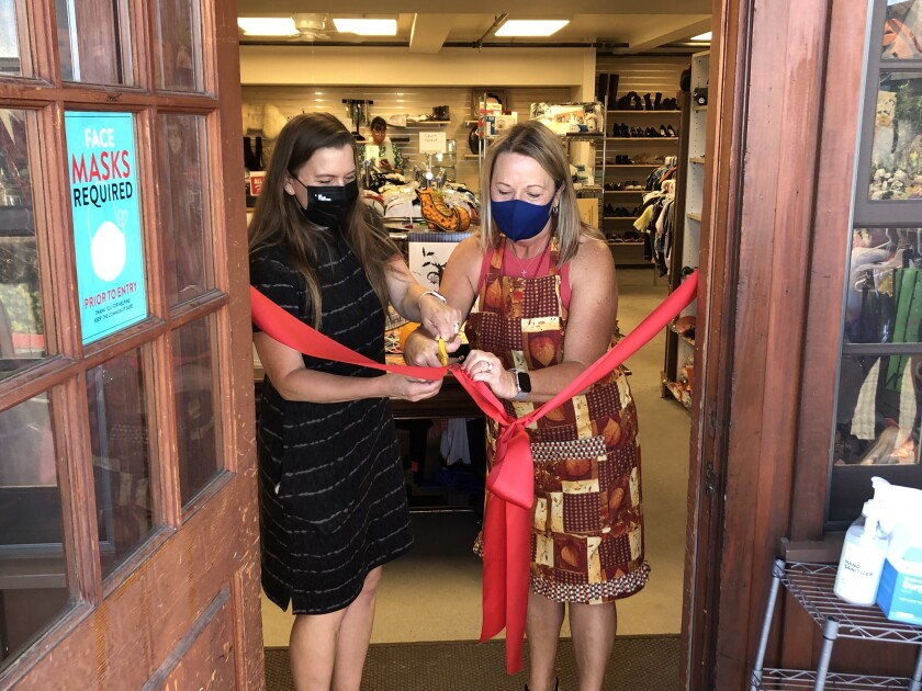 St. Peter's remodeled thrift shop opened Oct. 1.