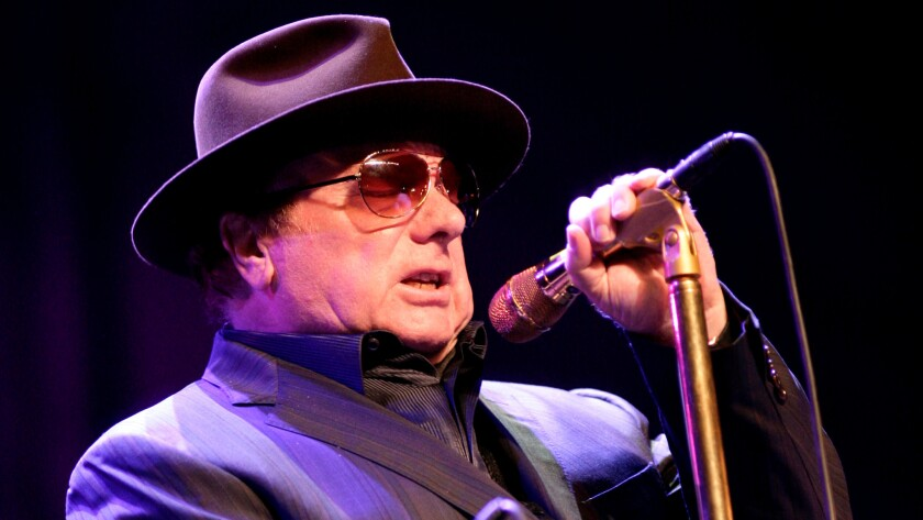 Van Morrison performs at the 2012 North Sea Jazz Festival in Rotterdam, Netherlands.
