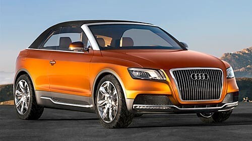 Audi Cross Cabriolet front view
