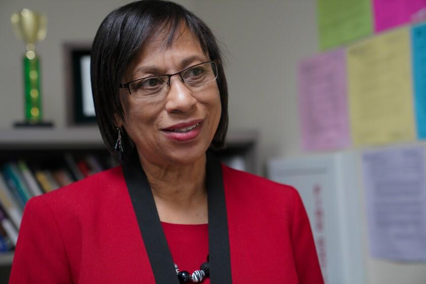 San Diego Unified School Board Vice President Sharon Whitehurst-Payne