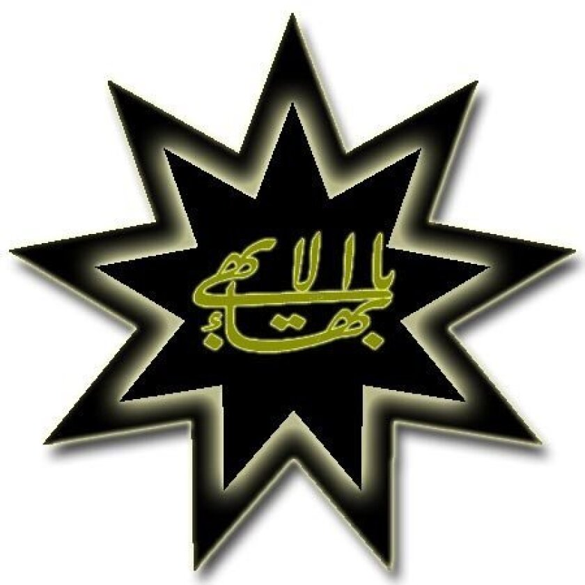 A symbol of the Bahá´í faith.