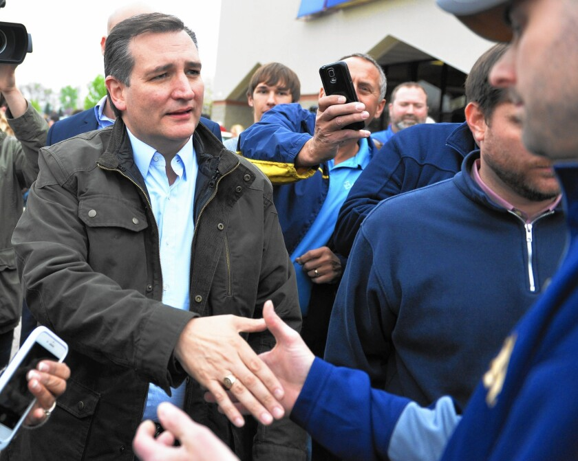 Ted Cruz's months of organizational work in California have given him a major head start.
