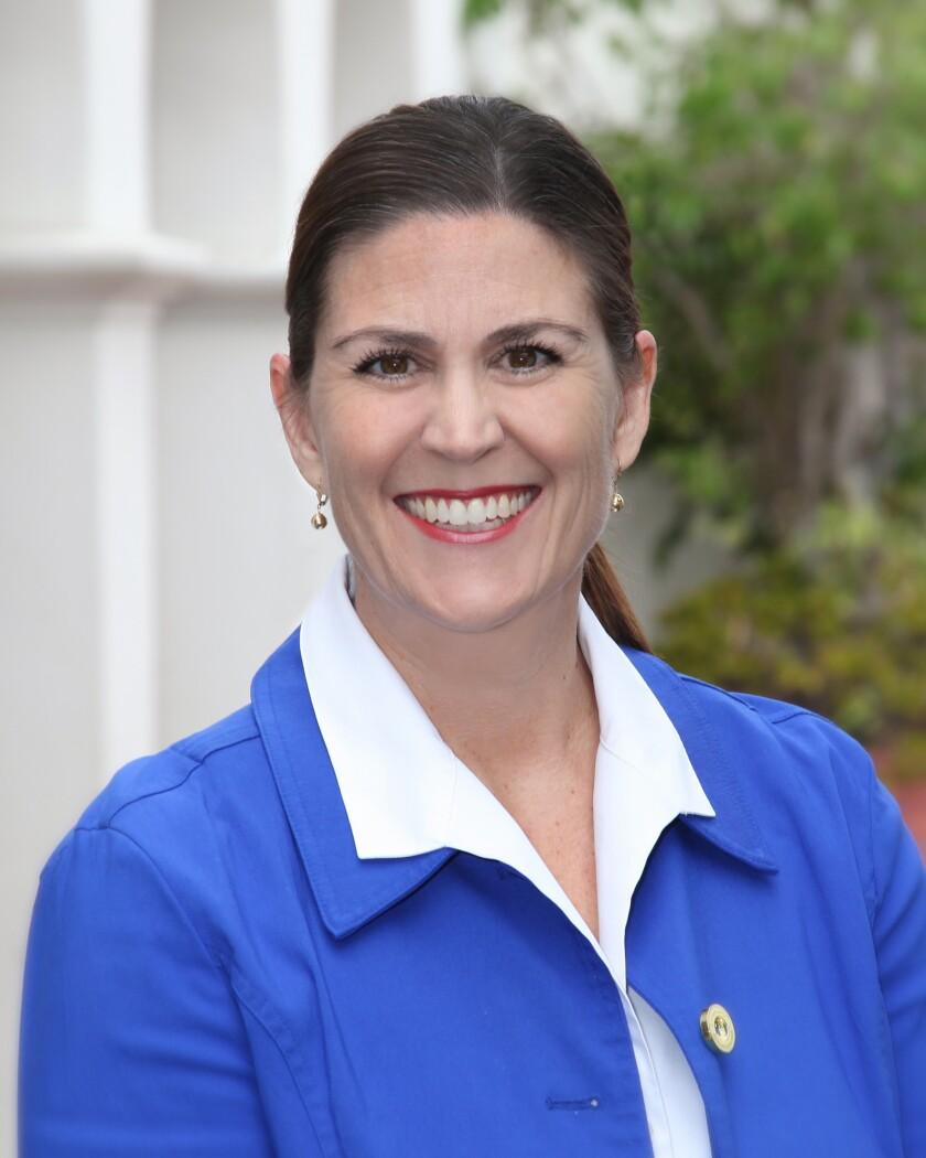 "La Jolla Presbyterian Church Preschool director Barbara De La Loza calls the students her ""little punkins."""