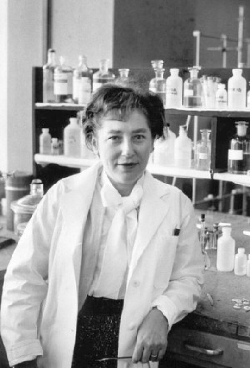 Mildred Cohn pioneered the use of stable isotopic tracers to study the mechanisms of enzymes and did critical work in nuclear magnetic resonance.