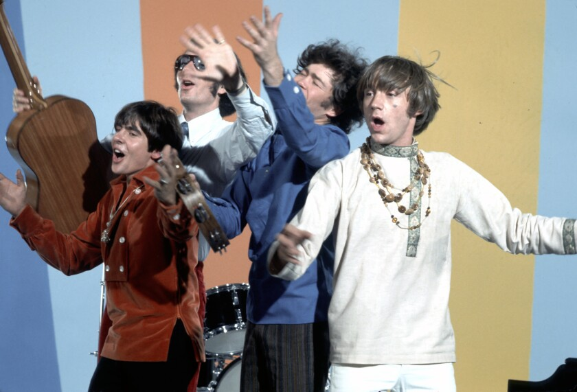 """The Monkees circa 1967 on their hit TV series, """"The Monkees"""""""