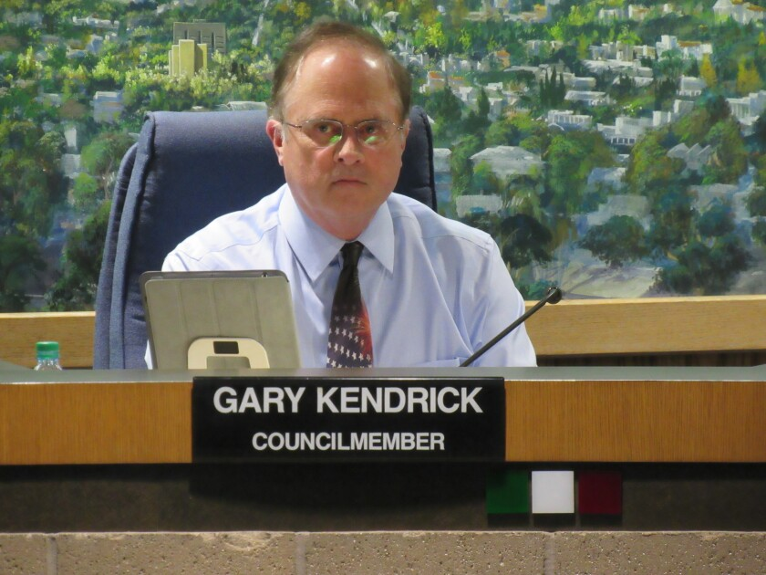 El Cajon City Councilman Gary Kendrick has been the most outspoken advocate for bigger penalties for retailers illegally selling tobacco to minors in the city.