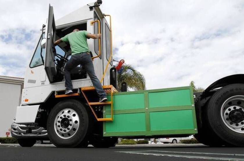 Electric cargo truck developers have to be ready for a long haul