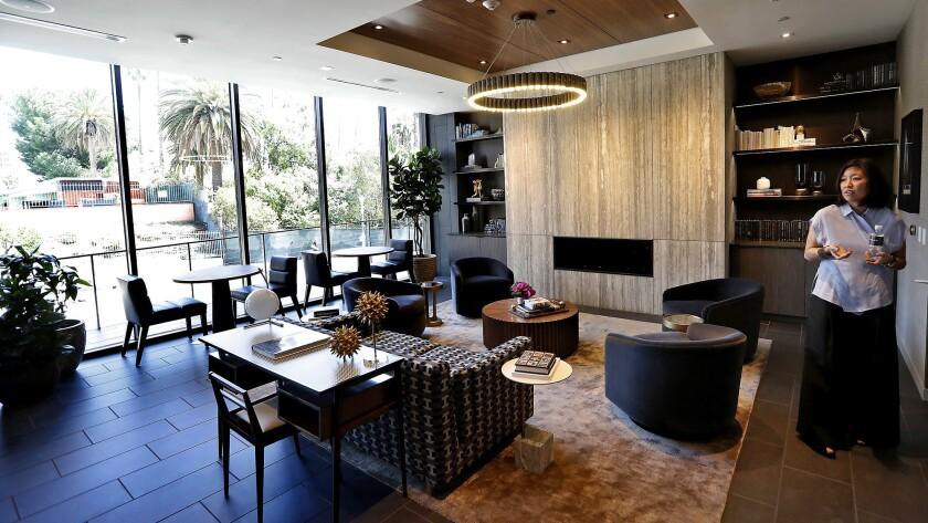 Phoebe Yee, Senior Vice President for Related, the developer of Argyle House, an 18-story luxury apa