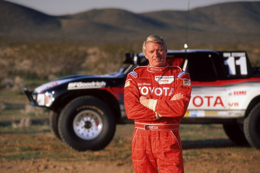 Ivan Stewart was a record 10-time overall champion in the SCORE Baja 500 (where he won his class a record 17 times). He won three overall titles in the Baja 1000.