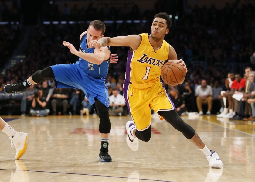 Lakers' D'Angelo Russell trying to turn criticism into motivation