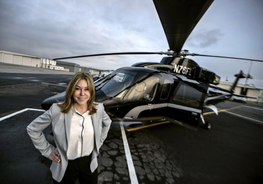 Helinet Aviation CEO Kathryn Purwin