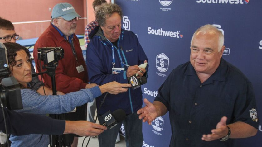 PEORIA , February 18, 2017 | Ron Fowler, the Executive Chairman and co-owner of the San Diego Padres