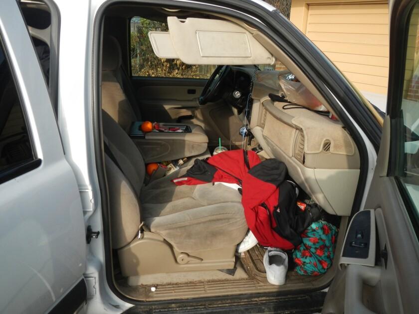 SUV contains clue in burglary