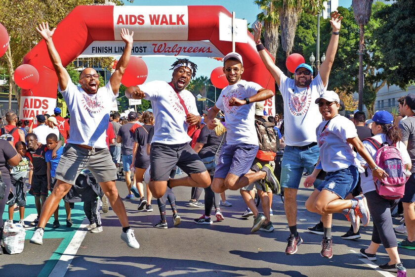 Walk for HIV/AIDS awareness and see an actress' home at weekend events near L.A.