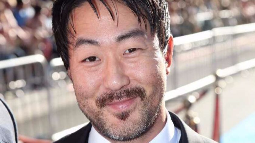 """Kenneth Choi arrives at Paramount Pictures and Marvel Comics present the world premier of """"Captain A"""