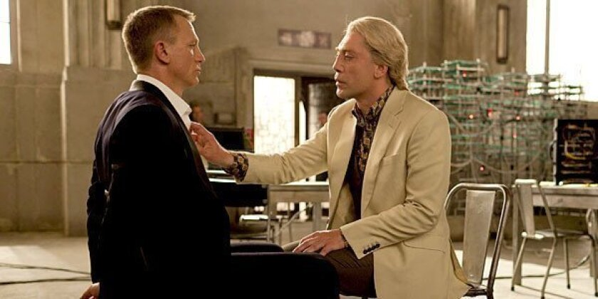 """Among the 25 foreign markets where """"Skyfall"""" opened last weekend, several held on very well."""