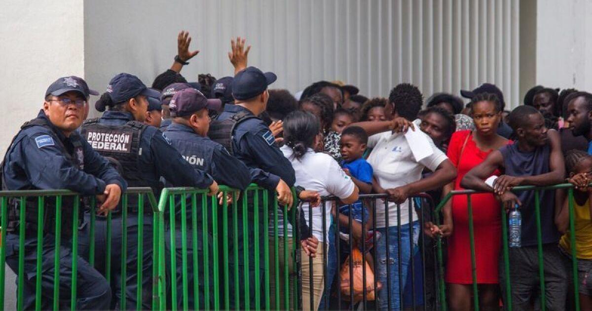 En la frontera sur de México, los migrantes sienten ya el golpe de la  represión impulsada por EE.UU - Los Angeles Times
