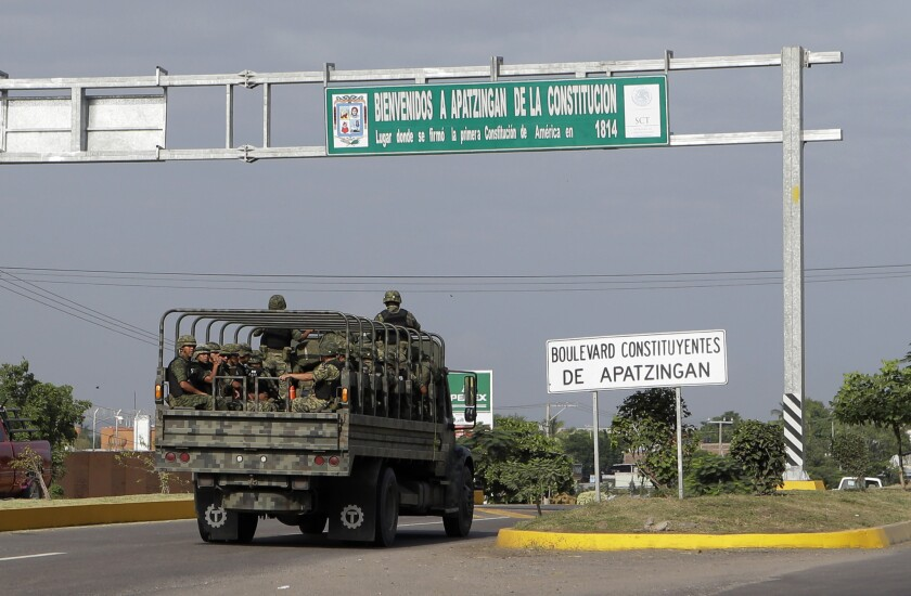 Violence in Mexico's Michoacan state
