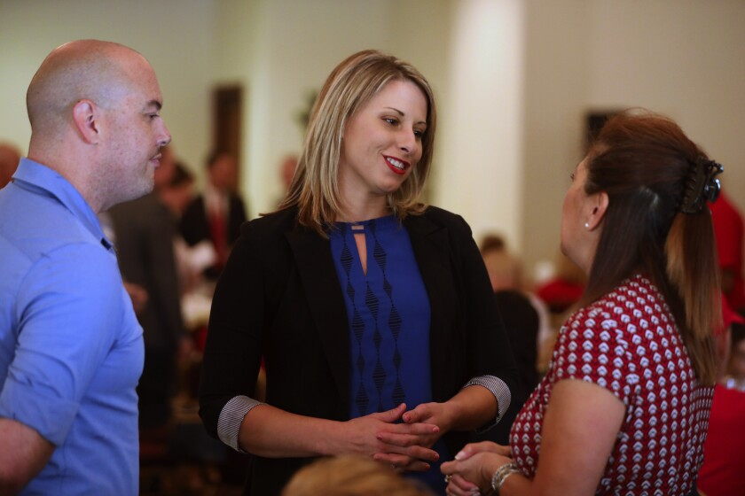 When a member of Congress leaves office, a special election is called for a replacement. In the case of Rep. Katie Hill, D-Santa Clarita, the election to fill the remainder of her term will be held March 3 — even as voters consider electing a candidate for a separate full two-year term in the same seat.