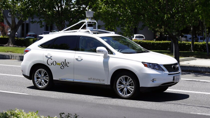 Google has not yet released to the general public its self-driving vehicles.