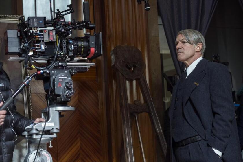 """Antonio Banderas se convierte en Pablo Picasso en la segunda temporada de la serie de National Geographic """"Genius""""."""