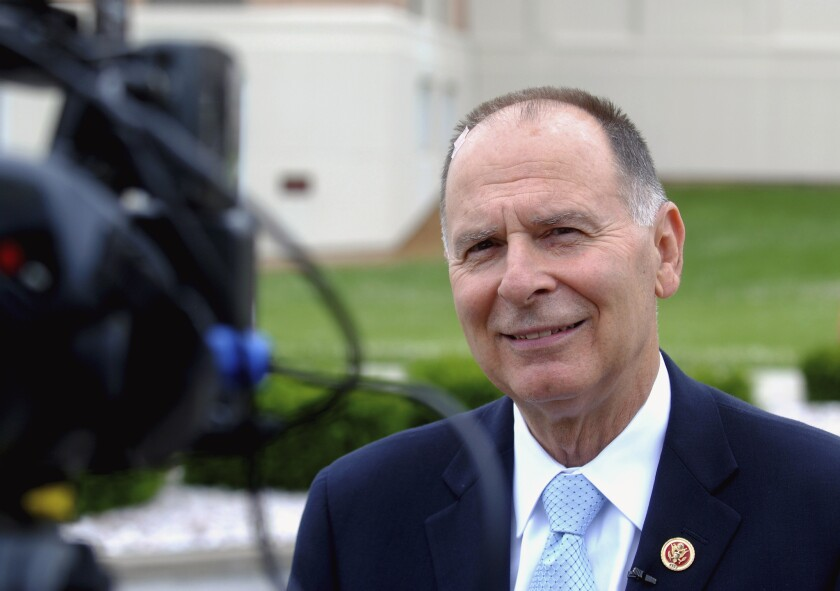 """U.S. Rep. Bill Enyart, a southern Illinois Democrat, was targeted in the """"Southern Illinois Update,"""" a fake news site sponsored by the NRCC."""